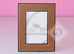 Hermes Classic Pleiade Gold Leather Photo Frame - New - MAISON de LUXE - 2