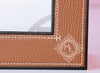 Hermes Classic Pleiade Gold Leather Photo Frame - New - MAISON de LUXE - 3