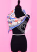 Hermes Silk 70 cm Blue Sports D'Hiver Scarf - New - Sale Item - MAISON de LUXE - 5
