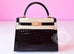 Hermes Noir Black GHW Niloticus Crocodile Sellier Kelly 28 Handbag - New - MAISON de LUXE - 1
