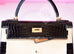 Hermes Noir Black GHW Niloticus Crocodile Sellier Kelly 28 Handbag - New - MAISON de LUXE - 6