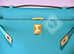 Hermes Blue Bleu Paon Mini Kelly Pochette Clutch - New - MAISON de LUXE - 10