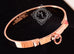 Hermes Rose Gold Collier de Chien Bracelet CDC Bangle SH - New - MAISON de LUXE - 1