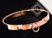 Hermes Rose Gold Collier de Chien Bracelet CDC Bangle SH - New - MAISON de LUXE - 7