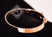 Hermes Rose Gold Collier de Chien Bracelet CDC Bangle SH - New - MAISON de LUXE - 8