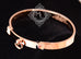 Hermes Rose Gold Collier de Chien Bracelet CDC Bangle SH - New - MAISON de LUXE - 11