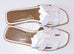 Hermes Womens White Oran Sandal Slipper 36 Shoes - New - MAISON de LUXE - 3