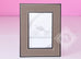 Hermes Classic Pleiade Etoupe Leather Photo Frame - New - MAISON de LUXE - 2