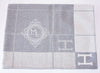 Hermes Large Gris Clair Wool Cashmere H Avalon III Blanket - New - MAISON de LUXE - 4