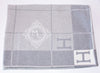 Hermes Large Gris Clair Wool Cashmere H Avalon III Blanket - New - MAISON de LUXE - 5
