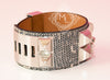 Hermes Ombre Lizard CDC Collier de Chien Bracelet S - New