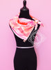 Hermes Pink Twill Silk 90 cm Sea Surf and Fun Scarf