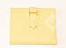 Hermes Jaune Poussin Yellow Epsom Bearn Wallet Clutch