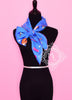 Hermes Blue Twill Silk 90 cm In The Pocket Scarf - New