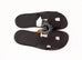 Hermes Men's Black Izmir Sandal 43.5 Shoes