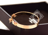 Hermes Yellow Gold Collier de Chien Bracelet CDC Bangle Cuff SH - New