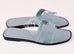 Hermes Womens Sky Blue Oran Sandal Slipper 39 Shoes