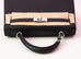 Hermes Noir Black PHW Sellier Epsom Kelly 25 Handbag
