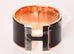 Hermes Black on Black Clic Clac Extra Wide Bracelet PM