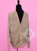 Hermes Men's $2200 Sable Button Cardigan Sweater Large