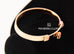Hermes Rose Gold Diamond Collier de Chien CDC Bracelet SH