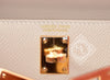 Hermes Craie Mini Kelly II 20cm Pochette Clutch - New