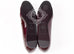 Hermes Women's Burgundy Nice Ballerina 38 Flat Shoes