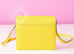 Hermes Lime Yellow Roulis Mini 18/19 Handbag