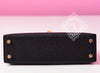 Hermes Noir Mini Kelly II 20cm Pochette Clutch - New