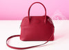 Hermes Rouge Grenat Red Epsom Bolide 27 Handbag - New