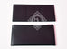 Black Ombre Lizard Passant Long Wallet Clutch