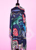 "Hermes ""The Savana Dance"" Blue Cashmere 140 GM Shawl Scarf"