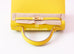 Hermes Lime Yellow GHW Sellier Epsom Kelly 25 Handbag