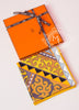 Hermes Yellow Twill Silk 90 cm Appaloosa des Steppes Scarf - New