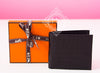 Hermes Noir Black MC² Copernic Crocodile Wallet - New