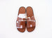 Hermes Men's Gold Izmir Sandal 44 Shoes