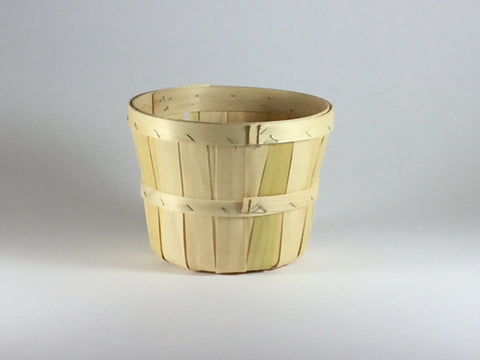 2qt Wooden Tub Basket--pack of 6