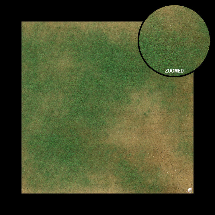 Mats by Mars: Grassy Spring Tabletop Wargaming Play Mat
