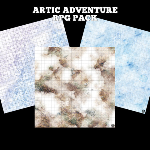 Mats by Mars: Arctic Adventure RPG Pack