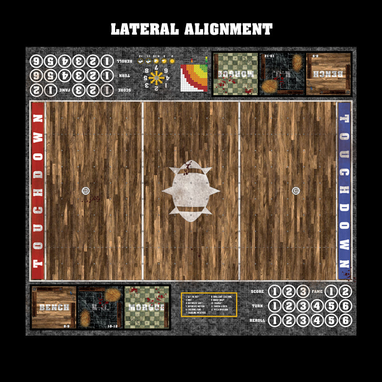 Tavern Fantasy Football 7s Play Mat / Pitch from Mats by Mars