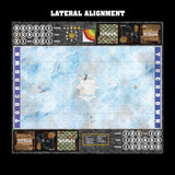 Frosty Cobbles Fantasy Football 7s Play Mat / Pitch from Mats by Mars