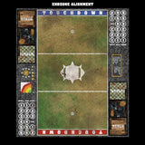Grassy Spring Fantasy Football 7s Play Mat / Pitch from Mats by Mars