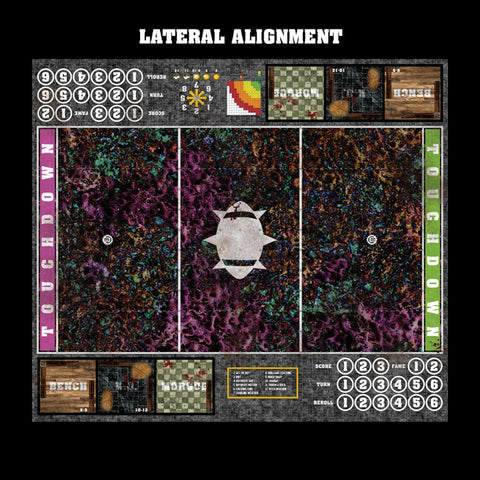 Chaos Realm Fantasy Football 7s Play Mat / Pitch from Mats by Mars