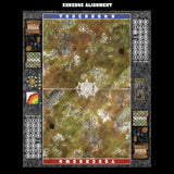 Mats by Mars:  Abandoned City Fantasy Football Play Mat / Pitch