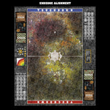 Mats by Mars:  Abandoned City v1.0 Fantasy Football Play Mat / Pitch
