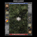 Mats by Mars:  Creeping Mold Fantasy Football Play Mat / Pitch