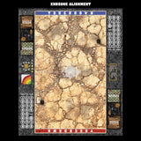 Mats by Mars:  Desert Fantasy Football Play Mat / Pitch