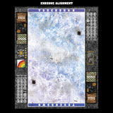 Mats by Mars:  Frozen Lake Fantasy Football Play Mat / Pitch