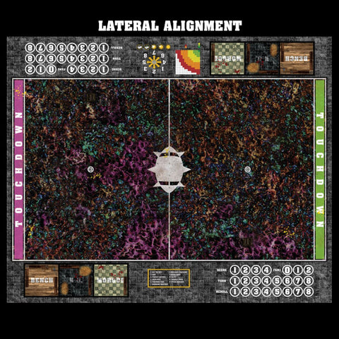 Mats by Mars:  Chaos Realm Fantasy Football Play Mat / Pitch