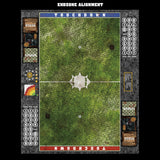 Mats by Mars:  Overgrown Cobbles Fantasy Football Play Mat / Pitch